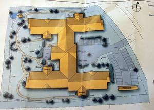 Ritning på det nya särskilda boendet i Noret Norra. Skissen är gjord av Mondo Arkitekter AB.
