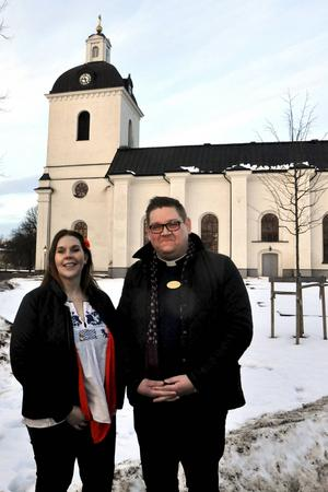 Både Anna Dellerhagen och Mattias Rådbo kommer att vara på plats i Säters kyrka i samband med drop in-vigslarna och drop in-dopen på Alla hjärtans dag.