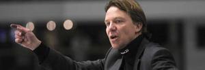 Tänkbart alternativ. Charles Berglund siktar på att ta sitt Timrå till slutspel - men han är en av tränarna som VIK vill ha till nästa säsong.Foto: Scanpix