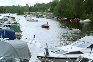 Cirka två av tre fritidsbåtar har sin hemmahamn vid ett inlandsvatten.