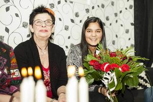 10 december 2015. Årets lucia i Härjedalen blev 16-åriga Prasamsa Aryal från Sveg.