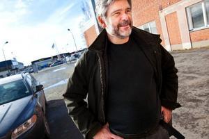 Micke Berlin på företaget Vision två har fått uppdraget att rita och bygga en matmonter till Gastronommässan i Stockholm.