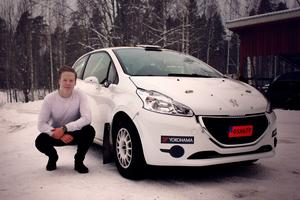 Elias Lundberg känner sig avslappnad inför säsongens andra SM-start.