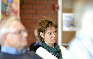 Allmän fråga. – Kan kommunen göra något mer för TAllens utbyggnad, undrade Marita Haraldson.Foto: Michael Landberg