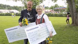 Peter Nyblom och Margaretha Eriksson korades båda till Årets Fagerstabo i fredags.