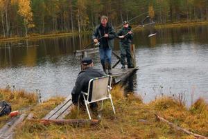 Per Olof Mårts och Jimmy Wahlberg levererade flera fångster i sitt teamwork.