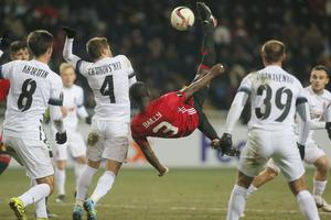 För ett år sedan mötte Zorja Luhansk Manchester United i gruppspelet i Europa League.
