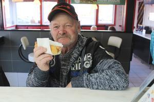 Christer Strandberg har ätit sin sista korv på Maximgrillen.