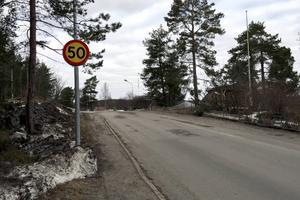 På Tegnérgatan i Haga kommer hastigheten att sänkas till 30 km/h.