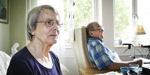 Benita och Bert Östman blev bestulna i sitt hem på onsdagen.
