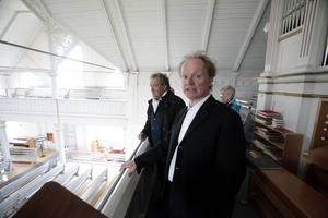 Utsikten från orgelläktaren är magnifik, konstaterar Gert Andersson som till helgen drar i gång Gåxsjö kulturvecka, fullmatad med spännande programpunkter.