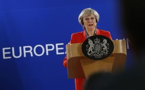 Nya EU/Brexitproblem för premiärminister Theresa May.