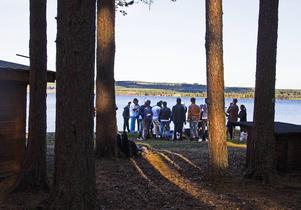 Flyktingarna från Grytans flyktingförläggning fick uppleva Jämtland på riktigt under onsdagen.