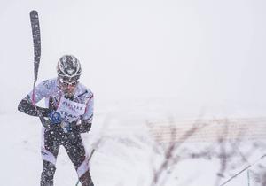 Skidalpinisten Björn Gund var snabbast runt banan, cirka sex minuter, när den individuella sprinten avgjordes.