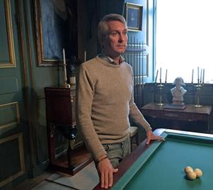 David von Schinkel är orolig för att han inte kommer att ha råd att hålla Tidö slott öppet för allmänheten och visa dess unika kulturarv.