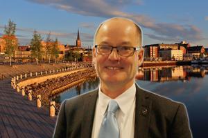 Knut Rost är vd för det Östersundsbaserade fastighetsbolaget Diös.