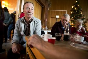 Hannu Viinanen besökte julfirandet.