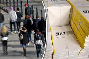 Benjamin Dousa och Ludvig Berggren från MUF menar att regeringens budget slår hårt mot unga i Sverige till följd av höjda skatter.