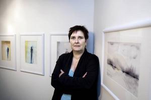 AKVARELLIST. Janet Sjölin har en fin känsla för sina landskap, och hur de ljussätts, i dessa tjugotalet akvareller. Men hon måste våga mer.