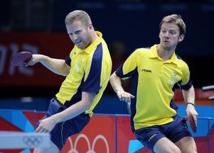 Det blev förlust för dubbelparet Jens Lundquist och Per Gerell mot Tyskland.