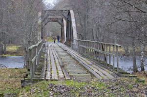 Broarna i Gysinge binder samman naturreservatet med fastlandet. Föreningen Vi i Gysingeär redo att sköta förvaltningen av broarna – under förutsättning att någon annan står som ägare.