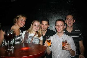 Konrad. Wouter, Robin, Jessica, Eva och Stefano