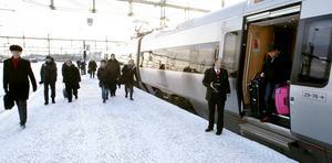 Arbetspendling till Söderhamn blir möjlig med dubbelspår och en ny sträckning.