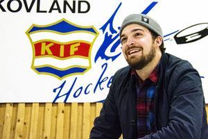Henrik Österholm är tillbaka i moderklubben Kovland, nu som sportchef.