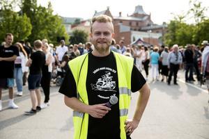 Arrangören Robert Gullberg från SMF Sollefteå var nöjd med årets rekorduppslutning.