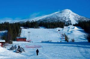 Lofsdalen stänger också skidbackarna för säsongen från och med måndag 6 april. Arkivbild