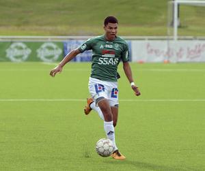 Alexander Jallow spelade i IK Brage innan flytten till Jönköping.