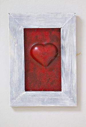 Ett hjärta rött