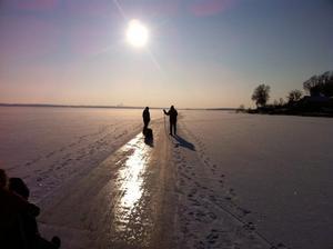 En underbar dag på isen ute på Strömskär lördagen den 4/2.