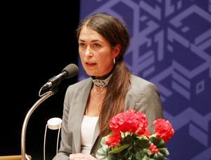 Christine Hägglund, Erikslund, försökte argumentera kring hållbarhet och ett bra fattat beslut sett över lång sikt. Men hennes och andras argumentering räckte inte för att stoppa Biltemas möjliga etablering till Erikslund.