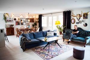 De sociala ytorna är viktiga hemma hos familjen Hällström.