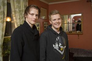 Jesper Karlsson och lillbror Pontus.