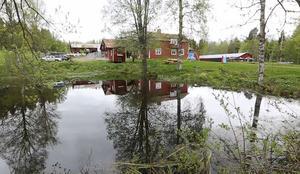 Sörskogsgården, två kilometer norr om Rexbo i Leksands kommun.