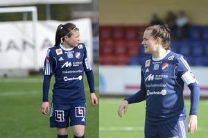 Michaela Hermansson och Denise Sundberg.