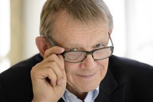 Professor Hans Rosling, folkbildare, föreläsare, professor, var sommarvärd 2005. Han återkommer som vintervärd för andra gången. ARKIVBILD.   Foto: Henrik Montgomery/ TT