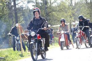 Mopperallyt Gnarpskannan lockade många mopedentusiaster.