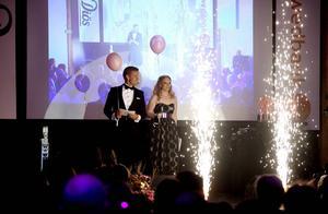 Jonas Svedin och Emma Benson ledde SBA-galan förra torsdagen.
