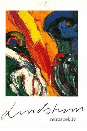 Oljemålningen Under solen prydde omslaget på museets retrospektiva utställning av Bengt Lindströms verk.