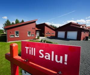 Bostadspriserna fortsätter uppåt i Gagnef.