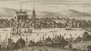 Sundsvall under slutet av 1600-talet.