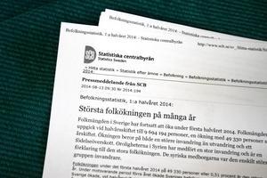 Pressmeddelandet från Statistiska Centralbyrån stämmer för Sverige men inte för Jämtlands län.