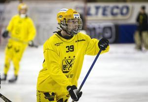 Vetlanda-löftet Martin Landström är en av 21 spelare som är uttagen i P21-truppen.
