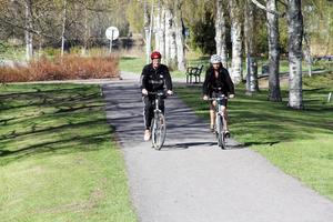 I Ovanåkers kommun var 88 personer anmälda för cykeltävlingen European cycling challenge.