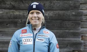 Lisa Hörnblad slutade på 17:e plats i JVM-störtloppet.