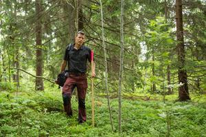 Per Bengtsson är en av de i Naturskyddsföreningen som skrivit överklagan till mark- och miljödomstolen. Foto: Stig-Göran Nilsson
