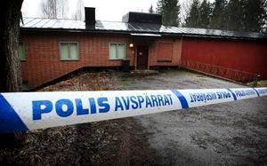 Det är i den här bunkeranläggningen i västra Grängesberg som de tre männen från Stockholmsområdet ska ha odlat haschplantor.